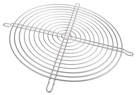 ebm-papst - 78128-2-4039 - ebm-papst 200mm风扇 银 钢制塑料涂层 手指防护罩 78128-2-4039, 240 x 240mm外部尺寸