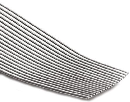 3M - 8132/08-100 - 3M 8 路 3.96mm节距 灰色 无屏蔽 带状电缆 8132/08-100, 30.18 mm 宽