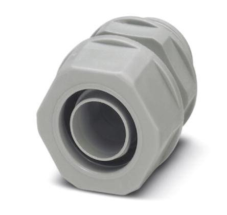 Phoenix Contact - 3240999 - Phoenix Contact IP65 灰色 PP 电缆固定头 3240999 至 27mm电缆直径, -10°C至+110°C, M25螺纹