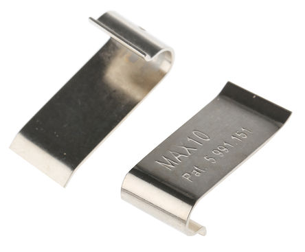 AAVID THERMALLOY - MAX10G - AAVID THERMALLOY 散�崞��A MAX10G, 使用于Max Clip Extrusion Profile