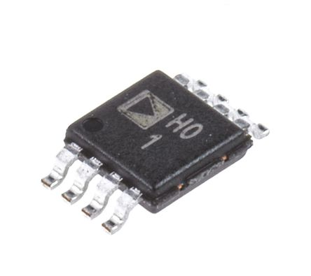 Analog Devices - AD8220ARMZ - Analog Devices AD8220ARMZ 仪表放大器, 0.3mV偏置, 1.5MHz, 74dB CMRR, 轨至轨输出, 12 V, 15 V, 18 V, 24 V, 28 V, 5 V, 9 V电源, 8引脚 MSOP封装