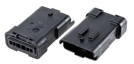 Delphi - 211PL069S0049 - Delphi 211PL 系列 3.33mm �距 1 行 6 路 公 ��|安�b PCB �んw 211PL069S0049