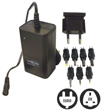 Ansmann - 2012-3004 - Ansmann 2012-3004 4 → 8节 2.2W 100 → 240V ac 镍镉/镍氢电池 电池组充电器, 欧洲/英国插头