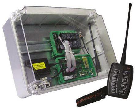 RF Solutions - PROBLADE16 - RF Solutions 434.525MHz FM 远程控制系统和套件 PROBLADE16, 16通道, 1000m收发范围, 110 → 240 V 交流电源