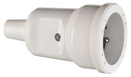 ABL Sursum - 1679082 - ABL Sursum 1679082 白色 2P+E 法�� �源插座 16A