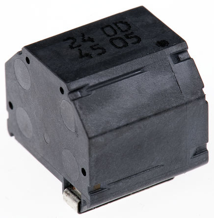 Panasonic - ETQPDH240DTV - Panasonic ETQPDH 系列 金属复合材料芯材 24 μH 绕线贴片电感器 ETQPDH240DTV, ±30%容差, 6.9A Idc, 25.8mΩ最大直流电阻, D1431H封装