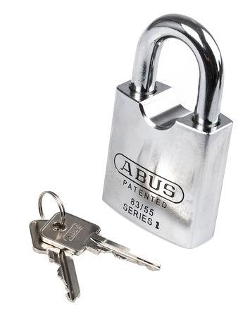 ABUS - XR0083C 55 - Abus XR0083C 55 灰色 �匙�I � 重型�戽i, 11.1mm �i�^