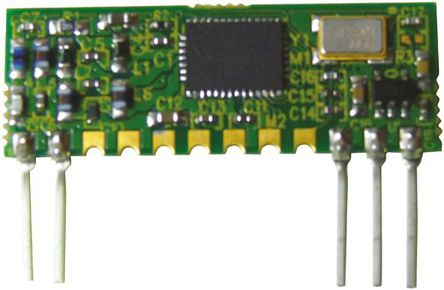 RF Solutions - T9-434-225 - RF Solutions 射频发射器 T9-434-225, 434 MHz频带, 调频调制技术, 2.2 → 12V