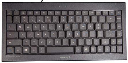 Cherry - JK-0700EU - Cherry 黑色 USB 有� 工�I用 �o��型 QWERTY(美��) �I�P JK-0700EU