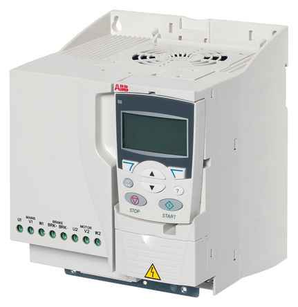 ABB - ACS355-03E-12A5-4 - ABB ACS355 系列 IP20 5.5 kW 变频器驱动 ACS355-03E-12A5-4, 0 → 600Hz, 12.5 A, 380 → 480 V, 使用于5.5 kW 交流电动机