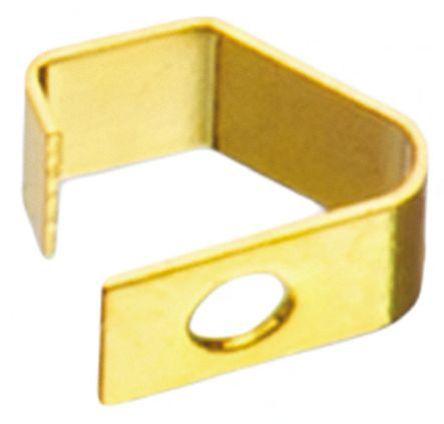 Wurth Elektronik - 331031271520 - Wurth Elektronik 镀金铍铜 屏蔽条 331031271520, 安装螺钉固定, 2.7mm长 x 1.5mm宽 x 2mm厚