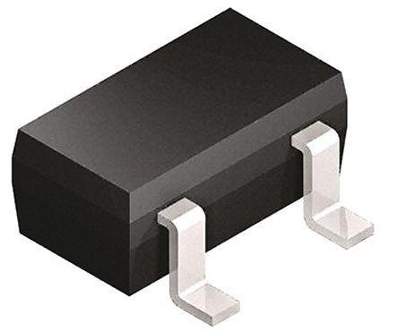Infineon - BC847BE6433 - Infineon BC847BE6433 , NPN �p�O晶�w管, 100 mA, Vce=50 V, HFE:420, 250 MHz, 3引�_ SOT-23封�b