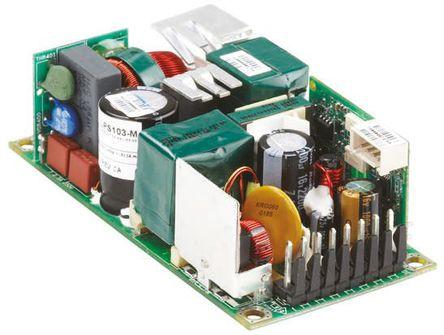Artesyn Embedded Technologies - LPS104-M - Artesyn Embedded Technologies 150W �屋�出 嵌入式�_�P模式�源 SMPS LPS104-M, 120 → 300 V dc, 90 → 264 V ac�入, 15V�出