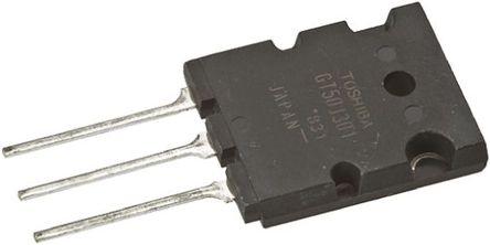 Toshiba - GT50J301(Q) - Toshiba GT50J301(Q) N沟道 IGBT, 50 A, Vce=600 V, 3引脚 TO-3PLH封装