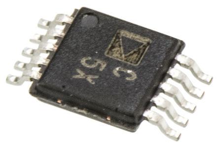 Analog Devices - AD7980ARMZ - Analog Devices AD7980ARMZ 16 位 ADC, 差分输入, 串行接口, 10引脚 MSOP封装