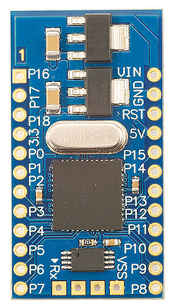 Parallax Inc - 32150 - Parallax Inc Parallax P8X32A 开发板 评估测试板 32150; 载有 P8X32A 微控制器