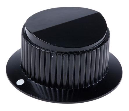 Vishay - ACCRFBOUTON29JF - Vishay 电位计旋钮 ACCRFBOUTON29JF, 6mm轴, 43mm直径旋钮