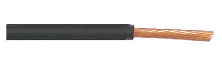 TE Connectivity - ACW0219-1.50-0 - TE Connectivity ACW 系列 100m 黑色 汽车电线 ACW0219-1.50-0, 1.5 mm2 横截面积, 50 V, 阻燃、低烟雾密度、自熄灭, -40 → +150 °C
