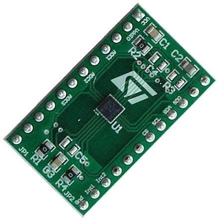 STMicroelectronics - STEVAL-MKI134V1 - STMicroelectronics DIL24 Socket 适配器板 STEVAL-MKI134V1