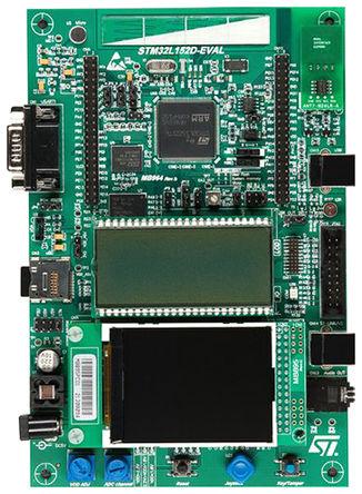 STMicroelectronics - STM32L152D-EVAL - STMicroelectronics STM32L152 STM32 处理器系列 评估套件 评估测试板 Ver. 1 STM32L152D-EVAL; 载有 STM32L152ZD6 MCU (ARM Cortex M3 内核)