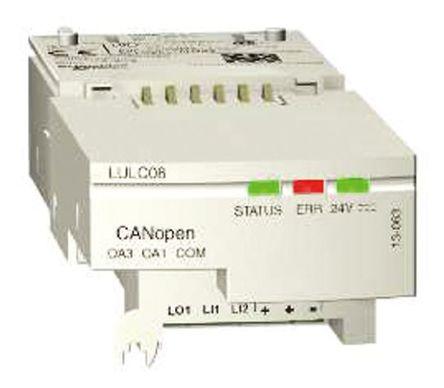 Schneider Electric - LULC08 - Schneider Electric TeSys U-Line 系列 通讯模块 LULC08, 24 V 直流, 500 mA