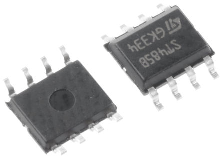 STMicroelectronics - ST485BDR - STMicroelectronics ST485BDR 2.5MBps 线路收发器, RS-422,RS-485接口, 差分接收器信号, 5 V单电源, 8引脚 SOIC封装