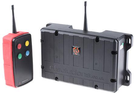 RF Solutions - SABRE-S4L - RF Solutions SABRE-S4L 远程控制系统和套件 10 → 32 V 直流,869.5MHz 2000m