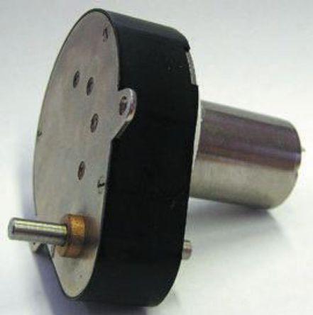 Portescap - 22N28.216E-204+RG1/8.0640 - Portescap 直流齿轮传动电动机 22N28.216E-204+RG1/8.0640, 电刷型, 6 V 直流, 8.4 mNm, 3.8 W