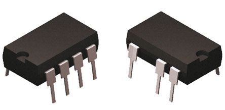 STMicroelectronics - VIPER25LN - STMicroelectronics VIPER25LN SMPS 控制器, 8.5 → 23.5 V输入, 7引脚 PDIP封装