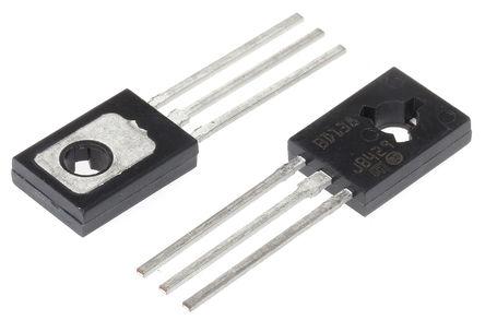 STMicroelectronics - BD138 - STMicroelectronics BD138 , PNP 晶体管, 1.5 A, Vce=60 V, HFE:25, 3引脚 SOT-32封装