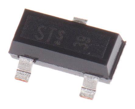 Infineon - BFR 93A E6327 - Infineon BFR 93A E6327 NPN 晶�w管, 90 mA, Vce=12 V, HFE:70, 6 GHz, 3引�_ SOT-23封�b