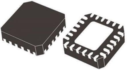 STMicroelectronics - LED7706 - STMicroelectronics LED7706 LED 驱动器, 5 V,9 V,12 V,15 V,18 V,24 V, 24引脚 VFQFPN封装