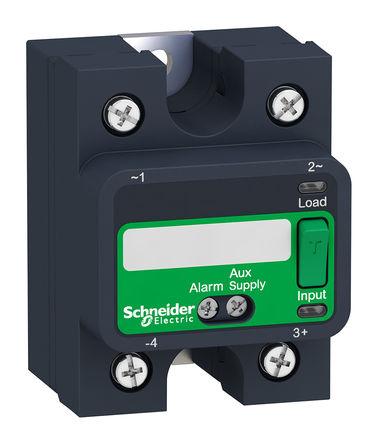 Schneider Electric - SSP1A450BDS - Schneider Electric 50 A 面板安装 单极常开 固态继电器 SSP1A450BDS, SCR输出, 零电压切换, 660 V 交流