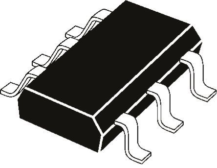 ROHM - UMT2NTR - ROHM UMT2NTR, 双 PNP 双极晶体管, 150 mA, Vce=50 V, HFE:120, 100 MHz, 6引脚 SC-88封装