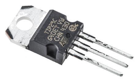 STMicroelectronics - TIP29C - STMicroelectronics TIP29C , NPN 晶体管, 1 A, Vce=100 V, HFE:15, 3引脚 TO-220封装