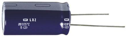 Nippon Chemi-Con - ELXZ100ELL472MK35S - Nippon Chemi-Con LXZ 系列 10 V 直流 4700μF 通孔 �X�解�容器 ELXZ100ELL472MK35S, ±20%容差, 44mΩ(等值串�), 最高+105°C, K35封�b