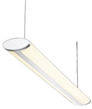 Knightsbridge - SPT52 - Knightsbridge 35 W 'ESR 双压条 荧光 吊顶灯具 SPT52, 2灯泡