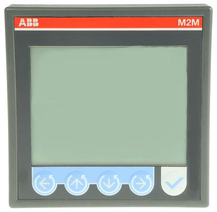 ABB - 2CSG299883R4052 - ABB M2M 系列 2CSG299883R4052 3 相 LCD 数字功率表, ±0.5%, 脉冲输出