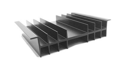ABL Components - 605AB1000B - ABL Components 黑色 散�崞� 605AB1000B, 1.7K/W, 100 x 125 x 27mm