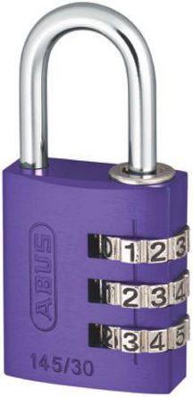 ABUS - 145/30 Lilac - Abus 145/30 Lilac Lilac �M合 �X 安全�戽i, 4.8mm �i�^