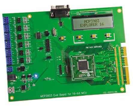Microchip - ADM00310 - Microchip 混合信号演示,效能管理 评估测试板 ADM00310