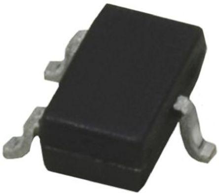 Panasonic - DRA2522J0L - Panasonic DRA2522J0L PNP 数字晶体管, -500 mA, Vce=-50 V, 0.27 kΩ, 电阻比:0.054, 3引脚 Mini3 G3 B封装