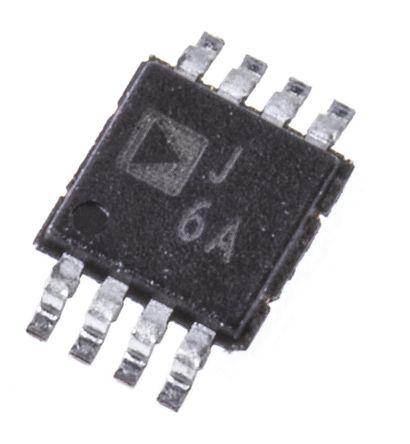Analog Devices - AD8310ARMZ - Analog Devices AD8310ARMZ 对数放大器, 3 V 5 V单电源电压, 轨至轨输入, 8针 MSOP封装