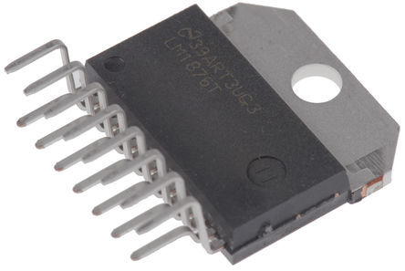 STMicroelectronics - TDA7266M - STMicroelectronics TDA7266M 桥接放大器 单片电路 音频放大器, +70 °C, 7 W @ 8 Ω最大功率, 15引脚 MULTIWATT V封装