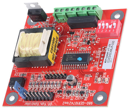 ebm-papst - CDC242055UR-R - ebm-papst 风扇速度控制器 CDC242055UR-R, 可变速度设定, 24 V 直流, 37mA, 使用于ebm-papst 2 线和 3 线直流风扇