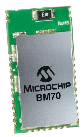Microchip - BM70BLES1FC2-0002AA - Microchip BM70BLES1FC2-0002AA 蓝牙芯片 4.2