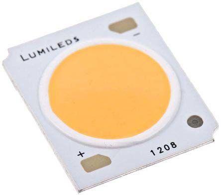 Lumileds - L2C5-50701208E1500 - Lumileds, LUXEON COB Gen3 系列 白色 70CRI COB LED L2C5-50701208E1500, 5000K色温, 1800 (Max.)mA, 34.8 V正向电压, 4900 lm光通量