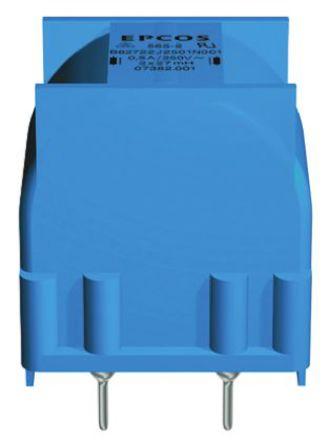 EPCOS - B82722J2501N001 - EPCOS B82721A 系列 27 mH ±30% 铁氧体 B82722J2501N001 功率电感器, 500mA Idc, 1.2Ω Rdc