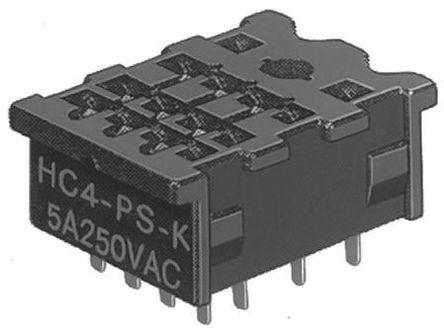 Panasonic - HC4PSK - Panasonic 继电器插座 HC4PSK, 适用于HC 系列