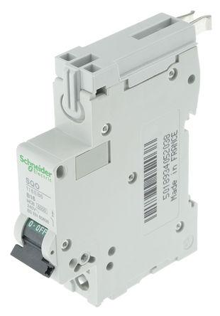 Square D - SQO116EB6 - Square D 16A 1极 B型 剩余电流断路器 SQO116EB6